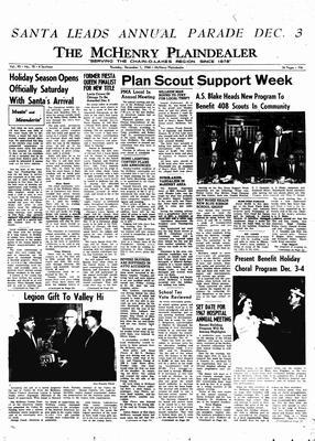 McHenry Plaindealer (McHenry, IL), 1 Dec 1966