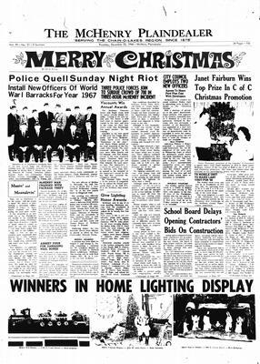 McHenry Plaindealer (McHenry, IL), 22 Dec 1966