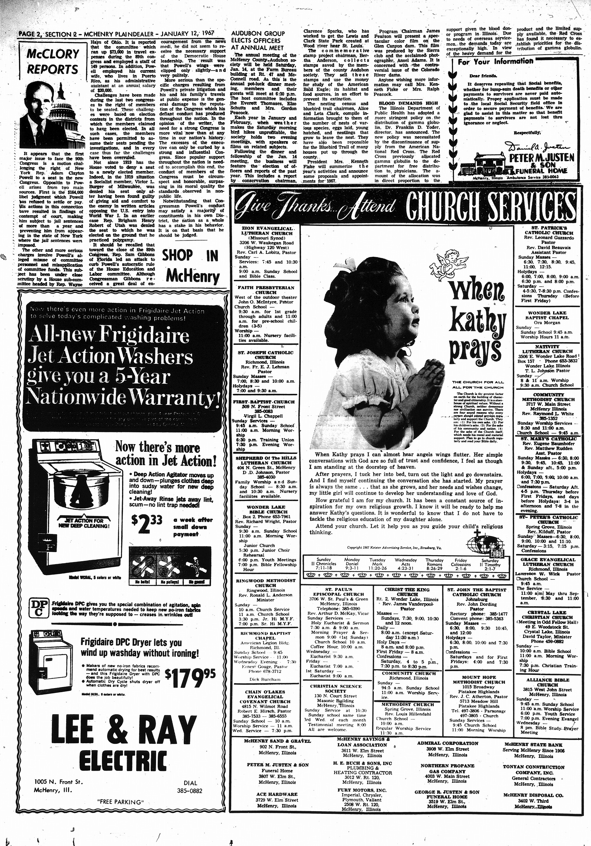 McHenry Plaindealer (McHenry, IL), 12 Jan 1967