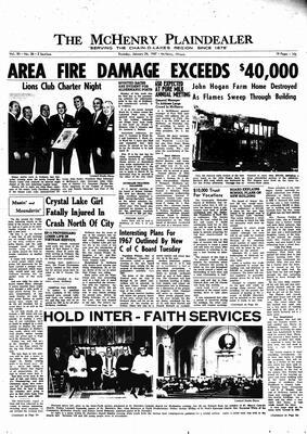 McHenry Plaindealer (McHenry, IL), 26 Jan 1967