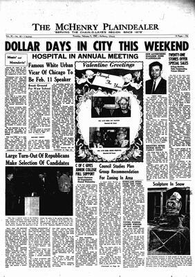 McHenry Plaindealer (McHenry, IL), 9 Feb 1967