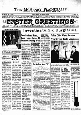 McHenry Plaindealer (McHenry, IL), 23 Mar 1967