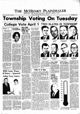 McHenry Plaindealer (McHenry, IL), 30 Mar 1967