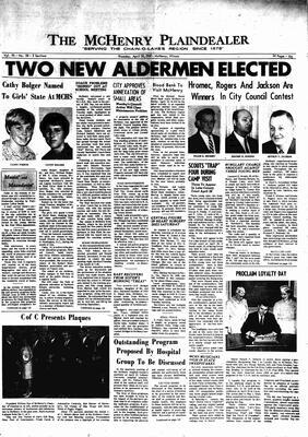 McHenry Plaindealer (McHenry, IL), 20 Apr 1967