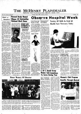 McHenry Plaindealer (McHenry, IL), 4 May 1967