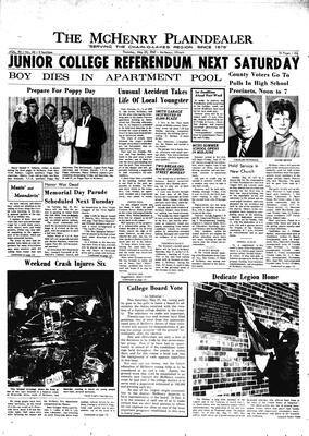 McHenry Plaindealer (McHenry, IL), 25 May 1967