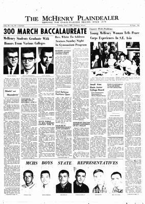 McHenry Plaindealer (McHenry, IL), 1 Jun 1967