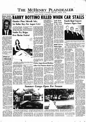 McHenry Plaindealer (McHenry, IL), 6 Jul 1967