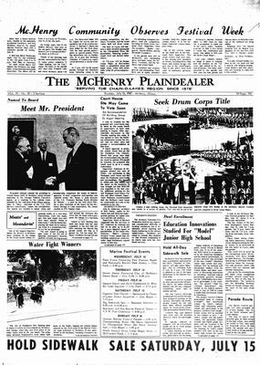 McHenry Plaindealer (McHenry, IL), 13 Jul 1967