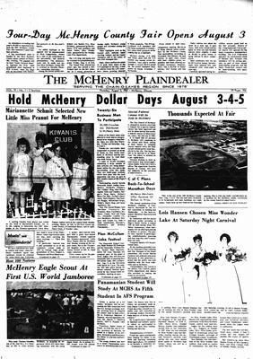 McHenry Plaindealer (McHenry, IL), 3 Aug 1967