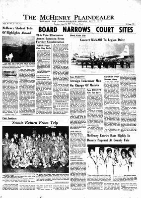 McHenry Plaindealer (McHenry, IL), 10 Aug 1967