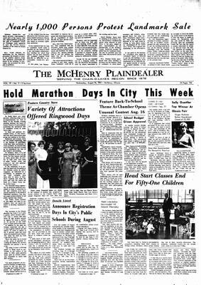McHenry Plaindealer (McHenry, IL), 16 Aug 1967