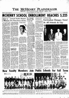 McHenry Plaindealer (McHenry, IL), 7 Sep 1967