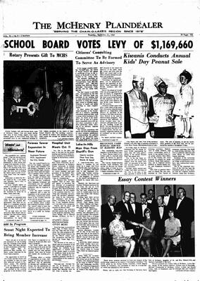 McHenry Plaindealer (McHenry, IL), 21 Sep 1967