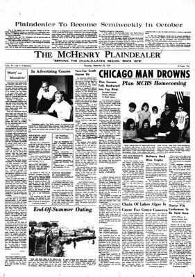 McHenry Plaindealer (McHenry, IL), 28 Sep 1967
