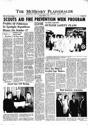 McHenry Plaindealer (McHenry, IL), 6 Oct 1967