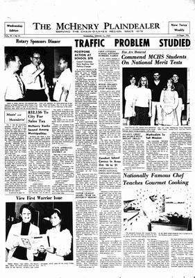 McHenry Plaindealer (McHenry, IL), 11 Oct 1967