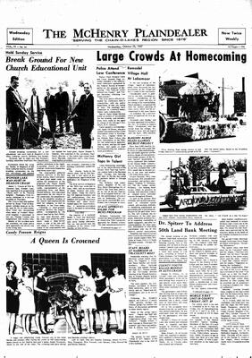 McHenry Plaindealer (McHenry, IL), 25 Oct 1967