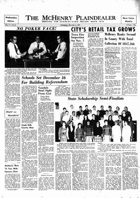 McHenry Plaindealer (McHenry, IL), 1 Nov 1967