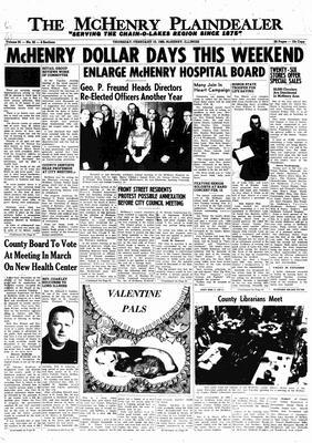 McHenry Plaindealer (McHenry, IL), 10 Feb 1966