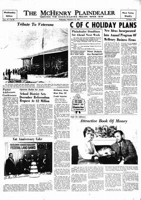 McHenry Plaindealer (McHenry, IL), 15 Nov 1967