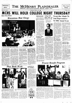 McHenry Plaindealer (McHenry, IL), 29 Nov 1967