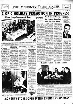 McHenry Plaindealer (McHenry, IL), 6 Dec 1967