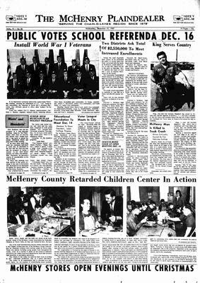 McHenry Plaindealer (McHenry, IL), 13 Dec 1967