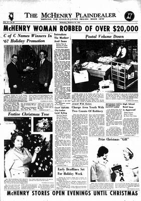 McHenry Plaindealer (McHenry, IL), 20 Dec 1967