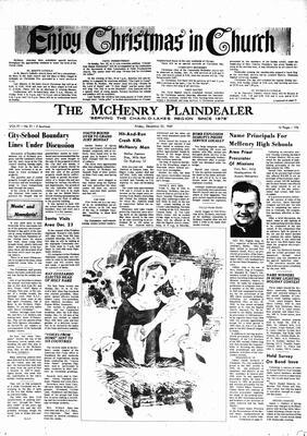 McHenry Plaindealer (McHenry, IL), 22 Dec 1967