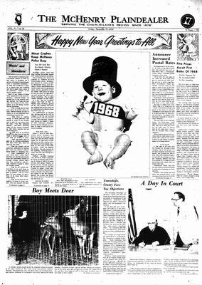 McHenry Plaindealer (McHenry, IL), 29 Dec 1967