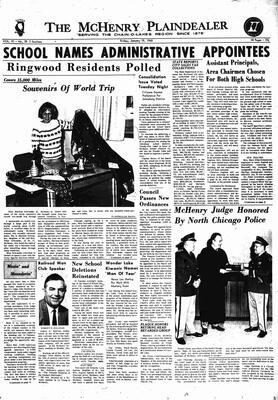 McHenry Plaindealer (McHenry, IL), 19 Jan 1968