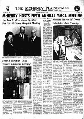 McHenry Plaindealer (McHenry, IL), 24 Jan 1968
