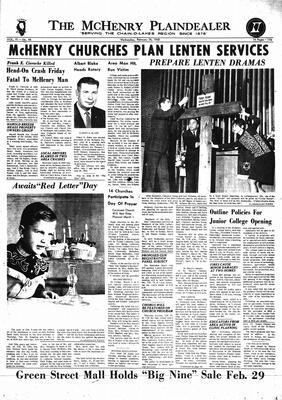 McHenry Plaindealer (McHenry, IL), 28 Feb 1968