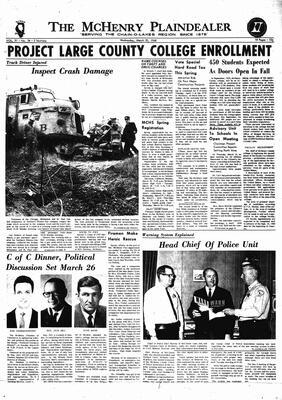 McHenry Plaindealer (McHenry, IL), 20 Mar 1968