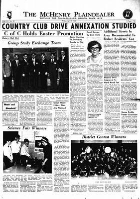 McHenry Plaindealer (McHenry, IL), 5 Apr 1968