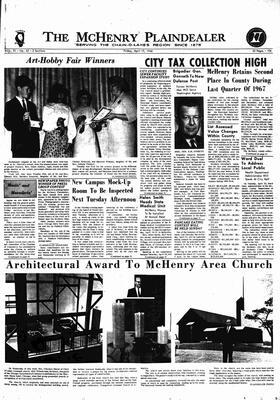 McHenry Plaindealer (McHenry, IL), 19 Apr 1968