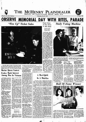 McHenry Plaindealer (McHenry, IL), 29 May 1968
