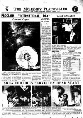 McHenry Plaindealer (McHenry, IL), 10 Jul 1968