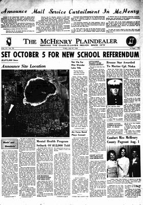 McHenry Plaindealer (McHenry, IL), 26 Jul 1968