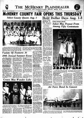 McHenry Plaindealer (McHenry, IL), 31 Jul 1968