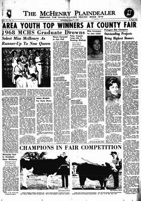 McHenry Plaindealer (McHenry, IL), 7 Aug 1968