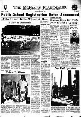 McHenry Plaindealer (McHenry, IL), 14 Aug 1968