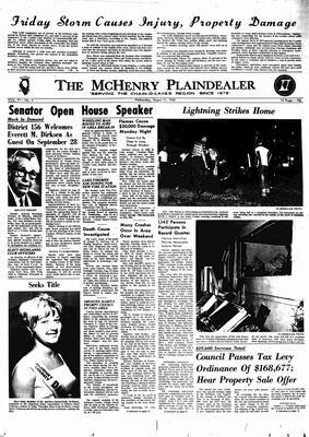 McHenry Plaindealer (McHenry, IL), 21 Aug 1968