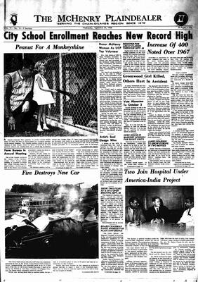 McHenry Plaindealer (McHenry, IL), 25 Sep 1968