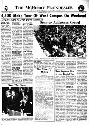 McHenry Plaindealer (McHenry, IL), 2 Oct 1968