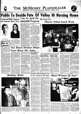 McHenry Plaindealer (McHenry, IL), 11 Oct 1968