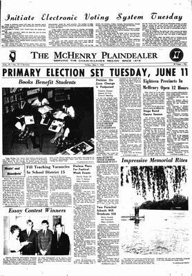 McHenry Plaindealer (McHenry, IL), 7 Jun 1968