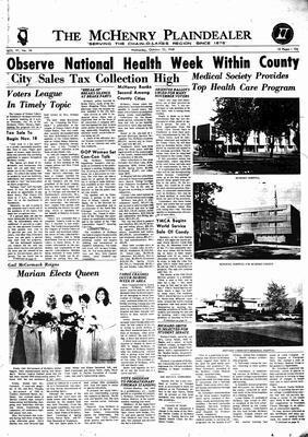 McHenry Plaindealer (McHenry, IL), 23 Oct 1968