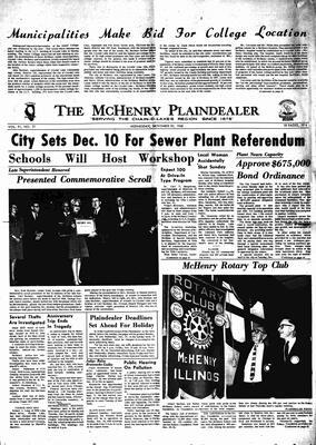 McHenry Plaindealer (McHenry, IL), 20 Nov 1968